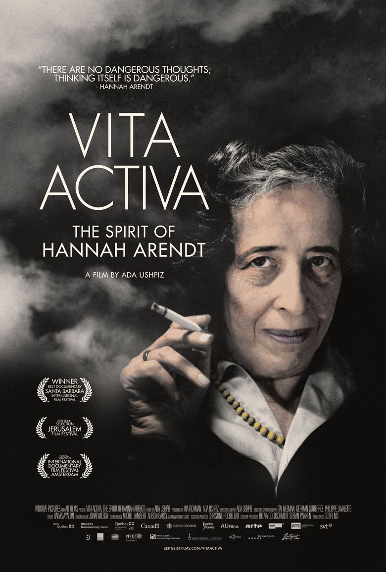 Vita Activa : The Spirit of Hannah Arendt Poster