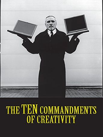 The Ten Commandments of Creativity Poster