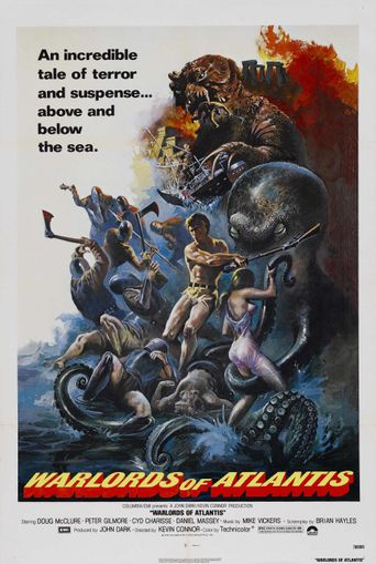 Warlords of Atlantis Poster