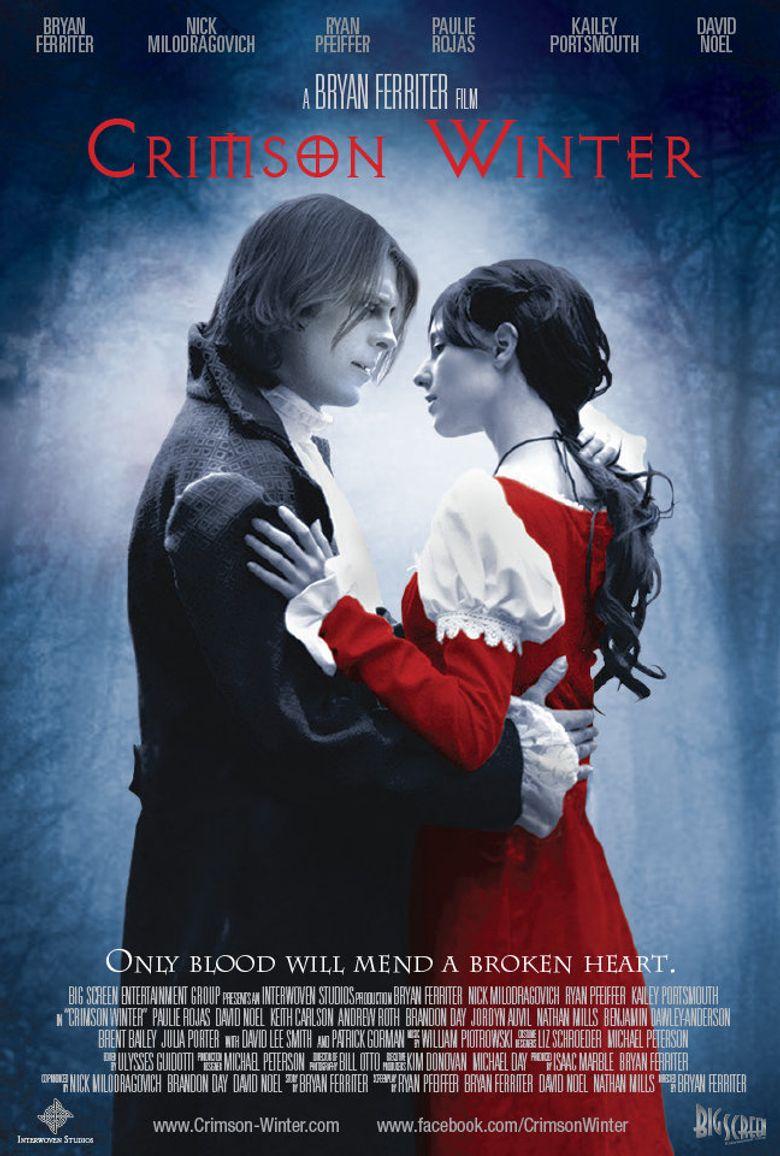 Crimson Winter Poster