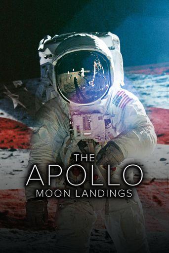 The Apollo Moon Landings Poster