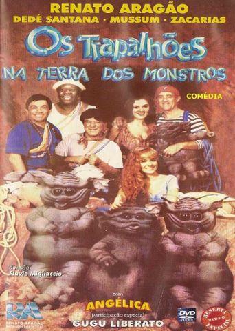 Os Trapalhões na Terra dos Monstros Poster
