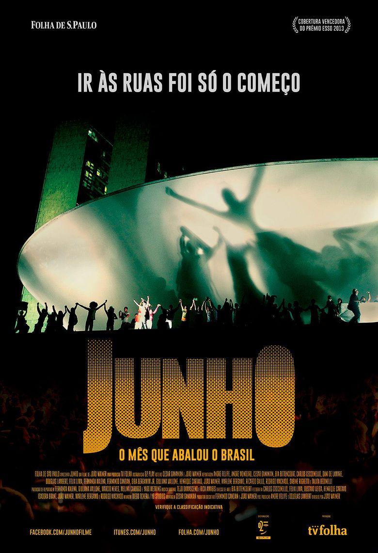 June - The Riots in Brazil Poster