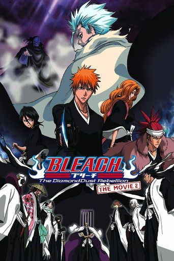 Bleach: The DiamondDust Rebellion Poster