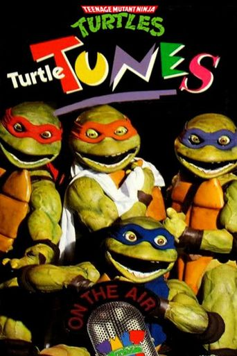 Teenage Mutant Ninja Turtles: Turtle Tunes Poster