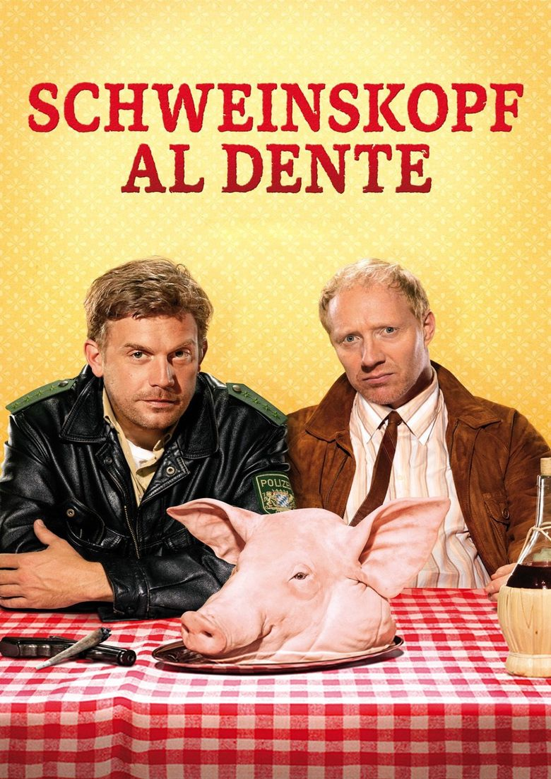 Pig Head al Dente Poster