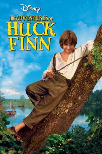 The Adventures of Huck Finn Poster