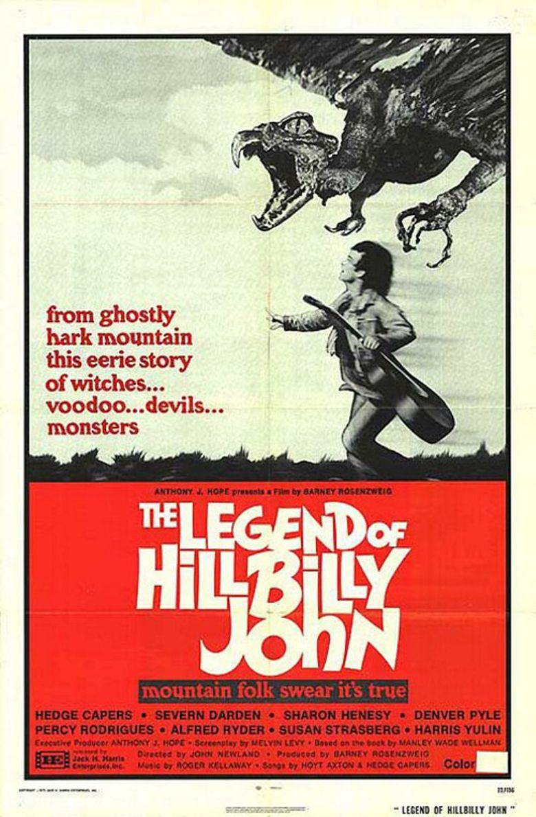 The Legend of Hillbilly John Poster
