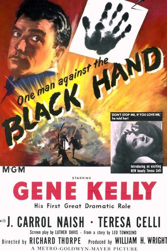 Black Hand Poster