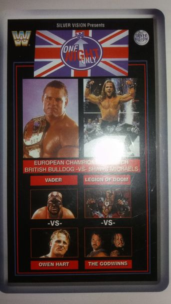 WWE One Night Only Poster