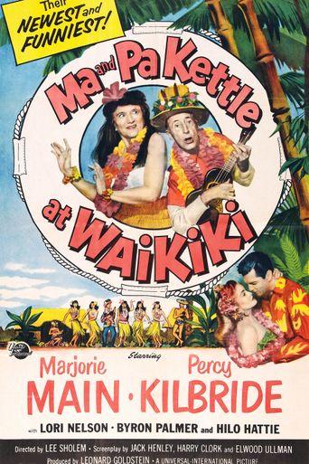 Ma and Pa Kettle at Waikiki Poster