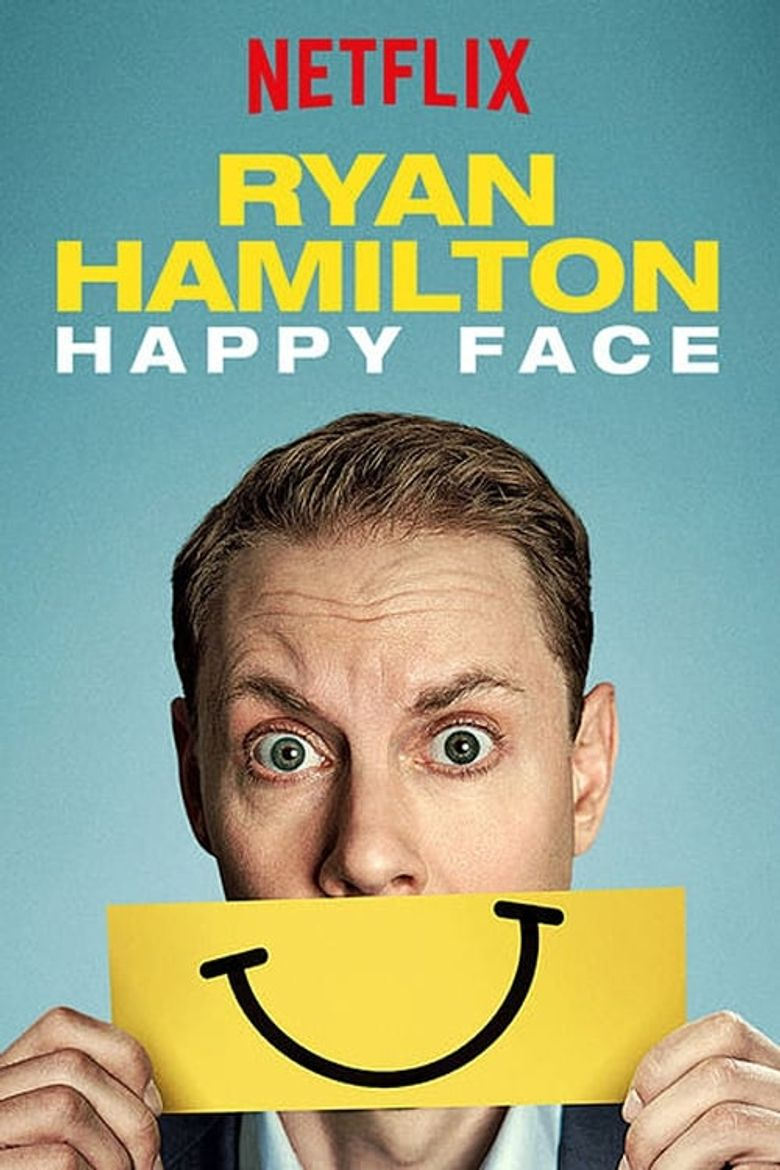 Ryan Hamilton: Happy Face Poster