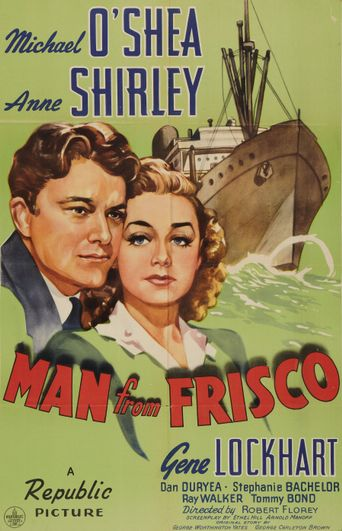 Man from Frisco Poster
