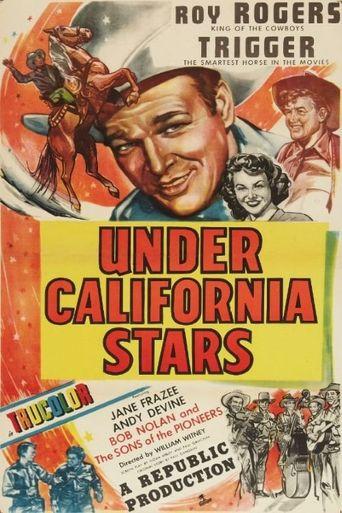 Under California Stars Poster