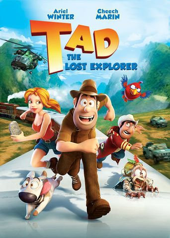 Tad, the Lost Explorer Poster