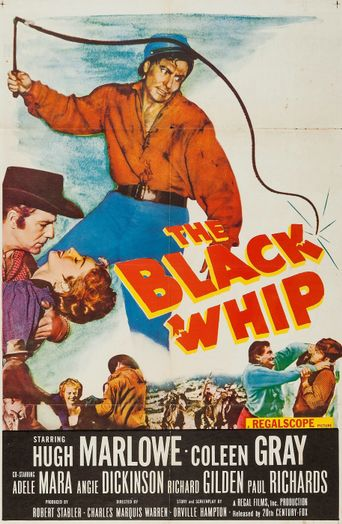 The Black Whip Poster
