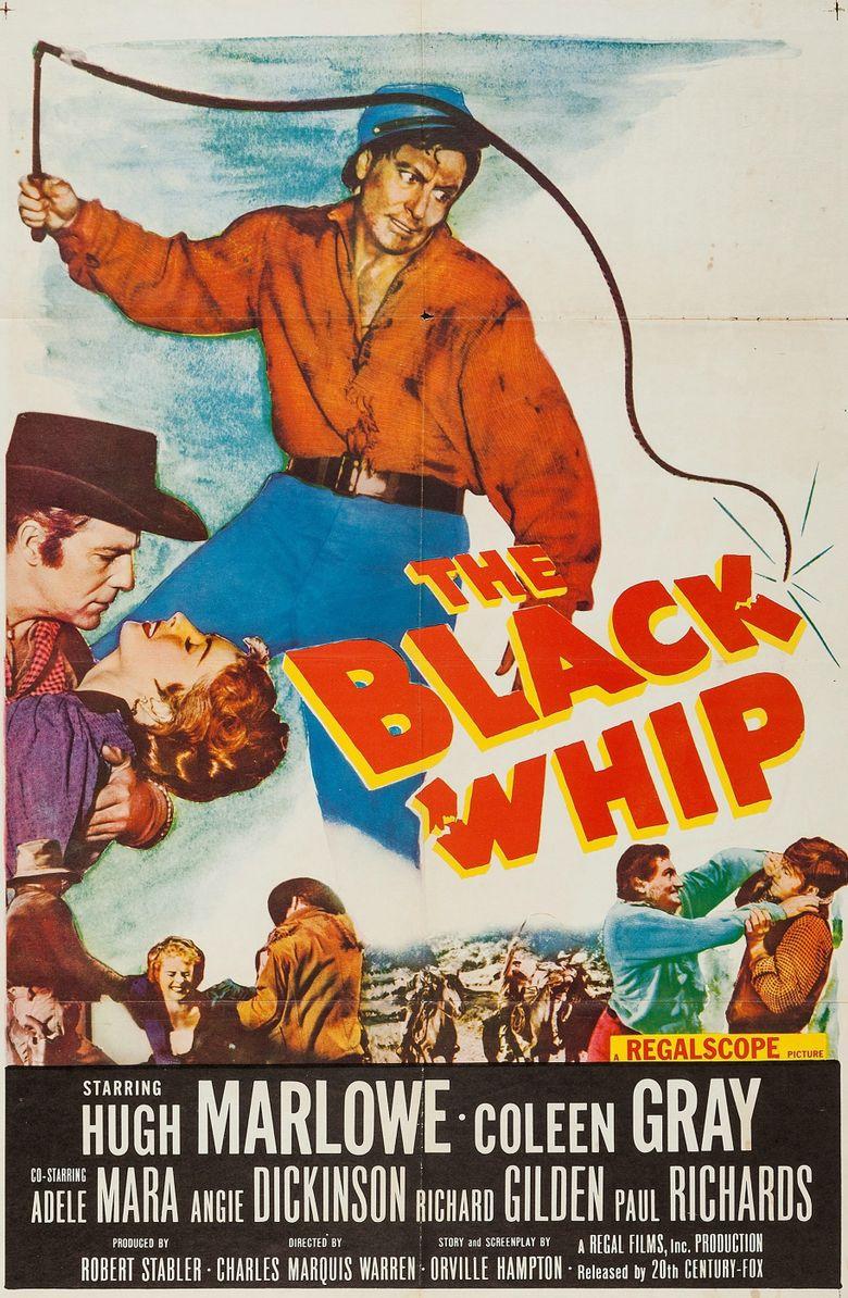 The Black Whip Poster