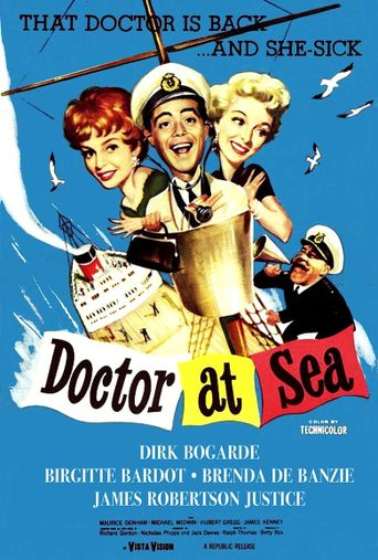 Doctor at Sea Poster