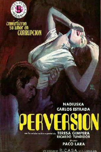 Perversión Poster
