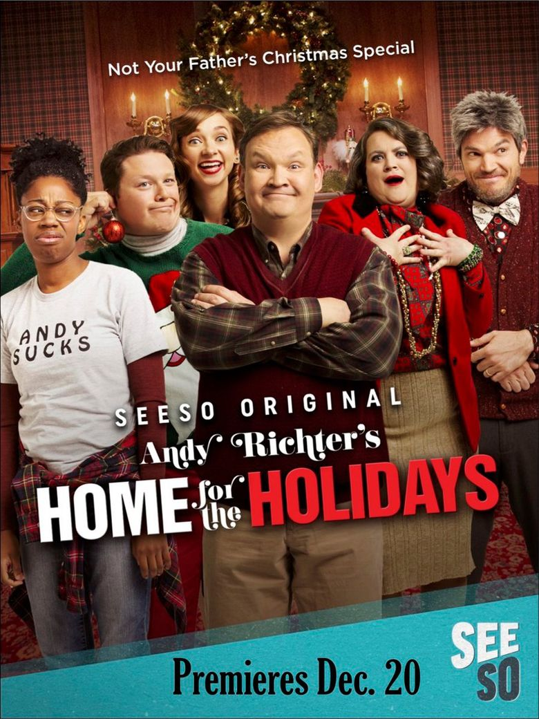 Andy Richter's Home for the Holidays Poster