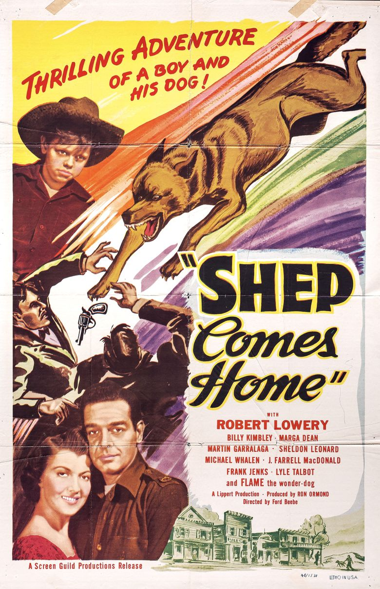 Shep Comes Home Poster