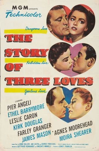 The Story of Three Loves Poster