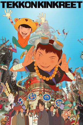 Watch Tekkonkinkreet