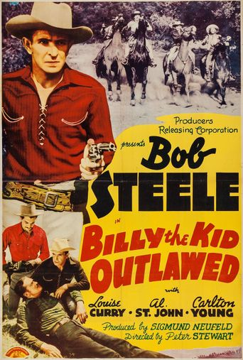 Billy the Kid Outlawed Poster