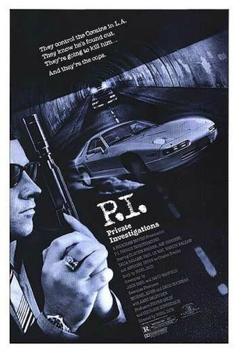P.I. Private Investigations Poster