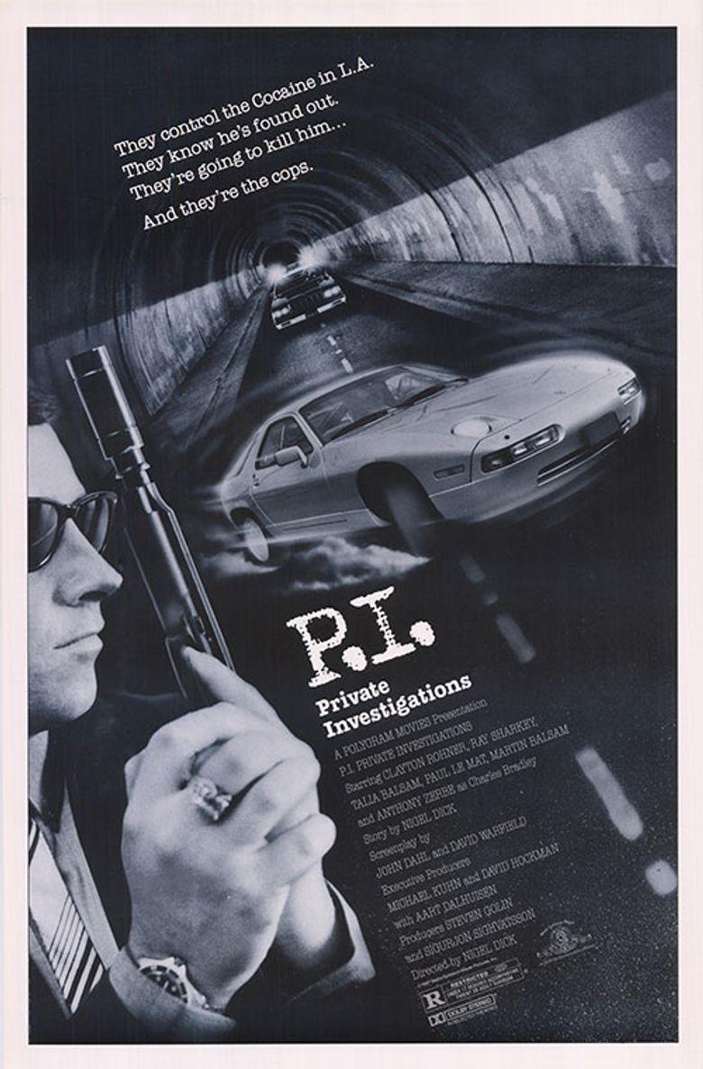P.I. Private Investigations Poster