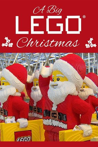 A Big Lego Christmas Poster