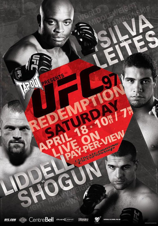 UFC 97: Redemption Poster