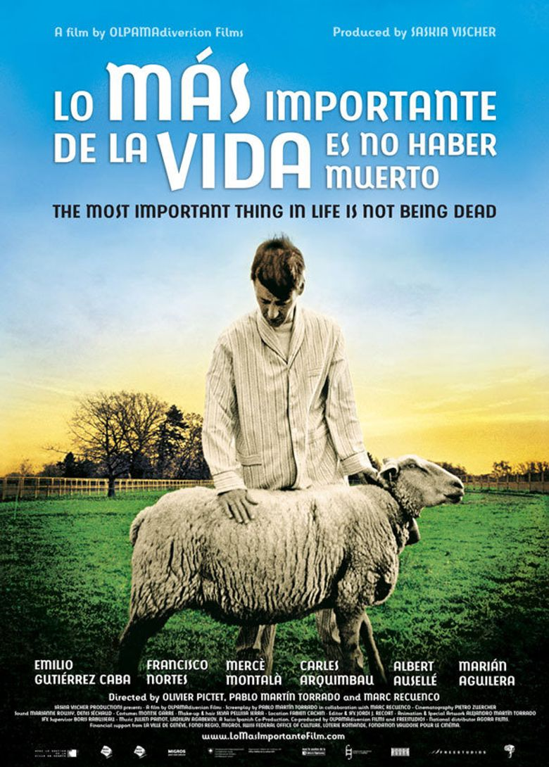The most important thing in life is not being dead Poster