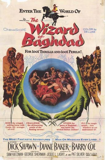 The Wizard of Baghdad Poster