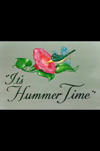 It's Hummer Time Poster