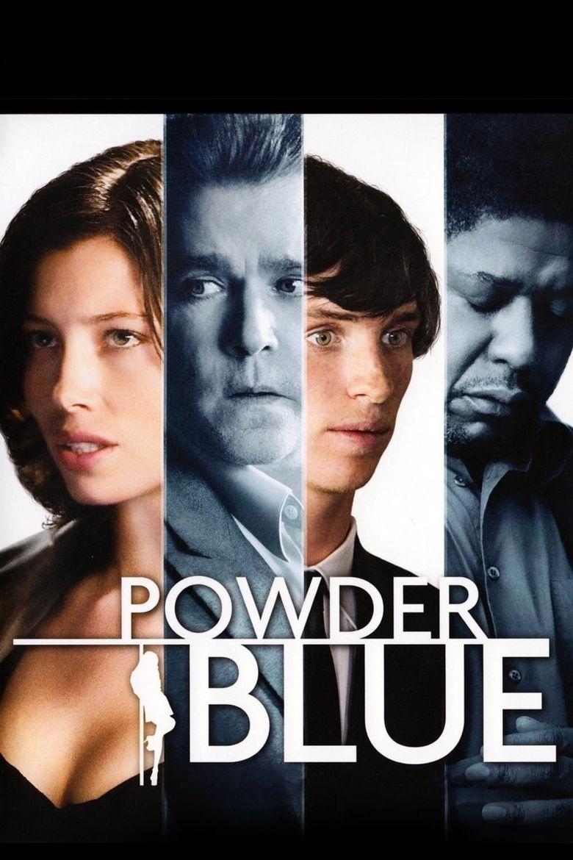 Powder Blue Poster