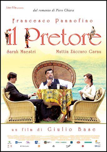 Il Pretore Poster
