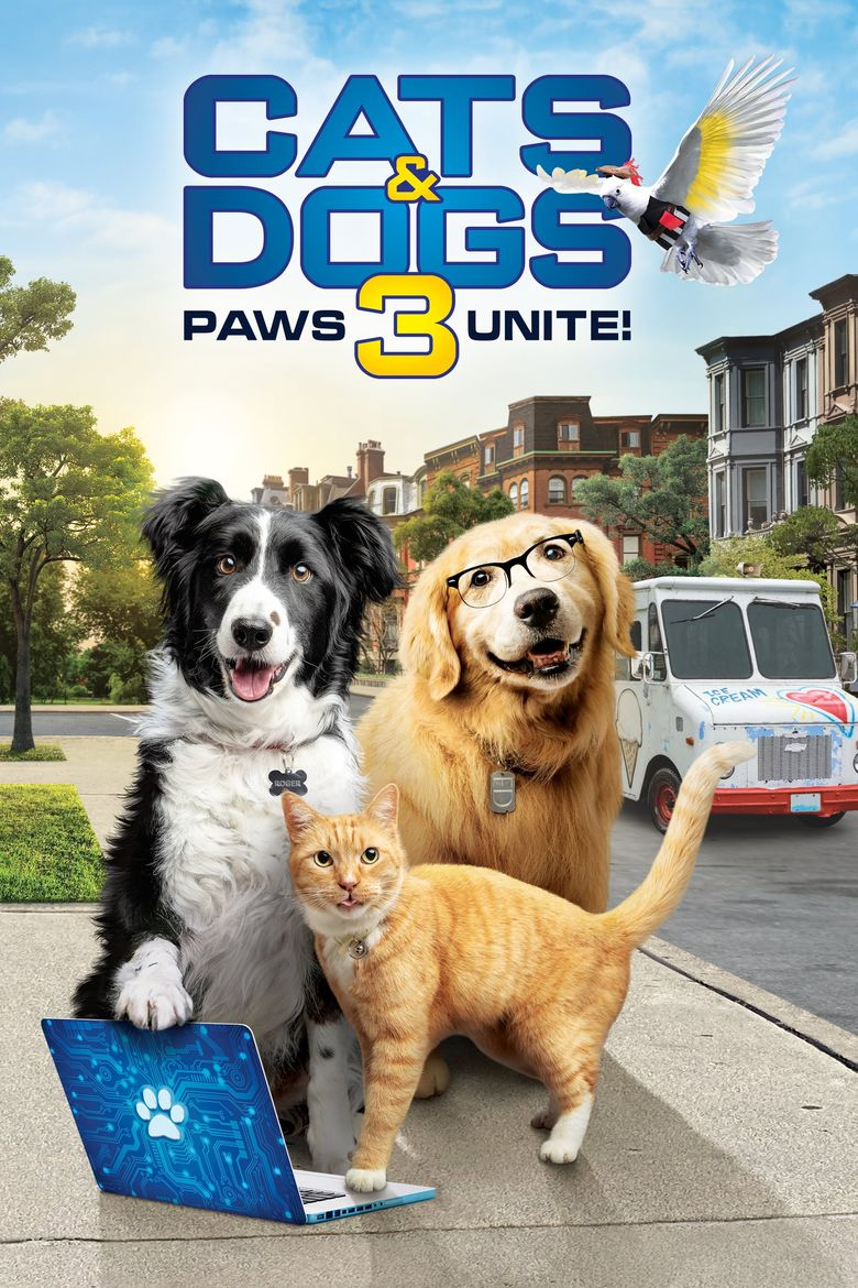 Cats & Dogs 3: Paws Unite Poster
