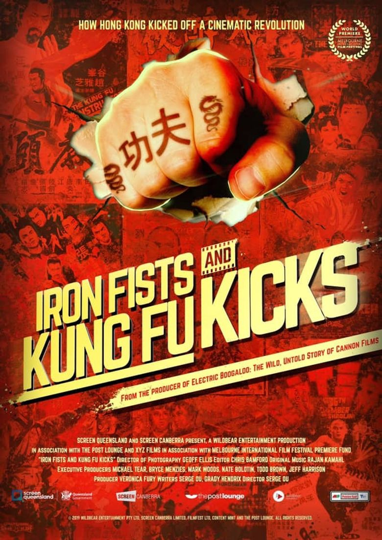 Iron Fists and Kung Fu Kicks Poster