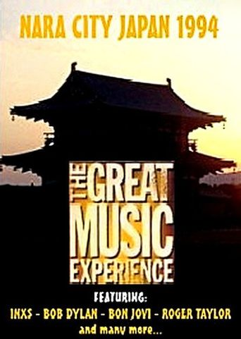 The Great Music Experience - Nara City Japan 1994 Poster