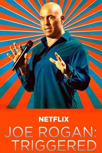 Joe Rogan: Triggered Poster