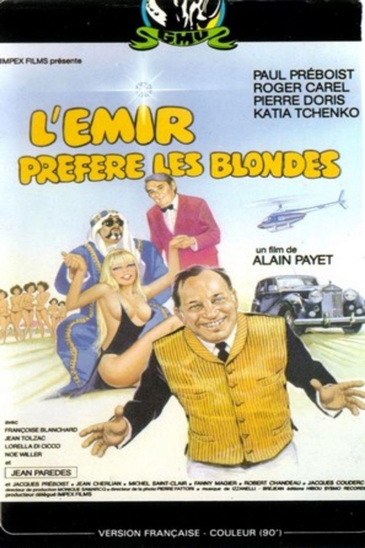 L'émir préfère les blondes Poster