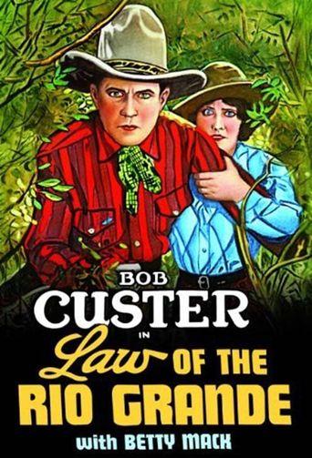 Law of the Rio Grande Poster