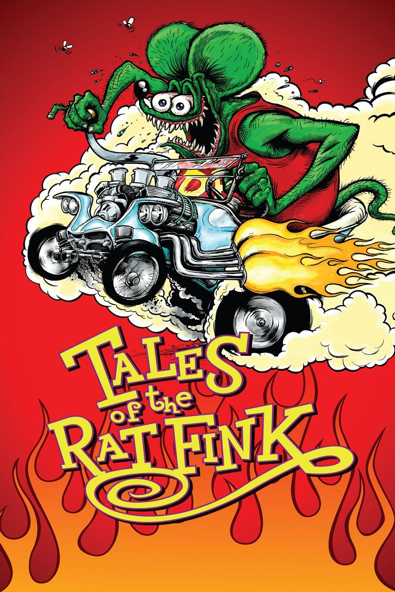 Tales of the Rat Fink Poster
