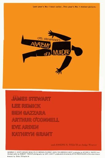 Anatomy of a Murder Poster