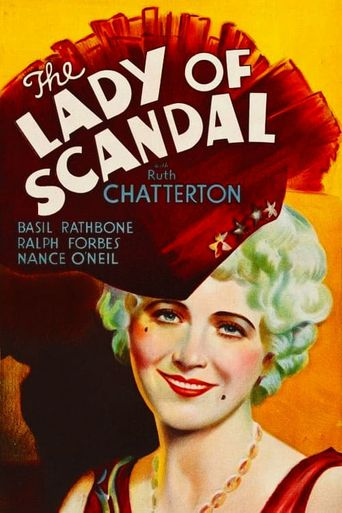 The Lady of Scandal Poster