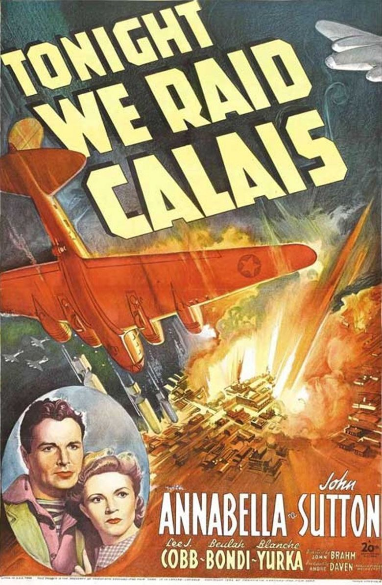 Tonight We Raid Calais Poster