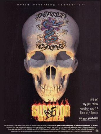 WWE Survivor Series 1998 Poster