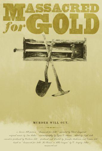Massacred for Gold Poster