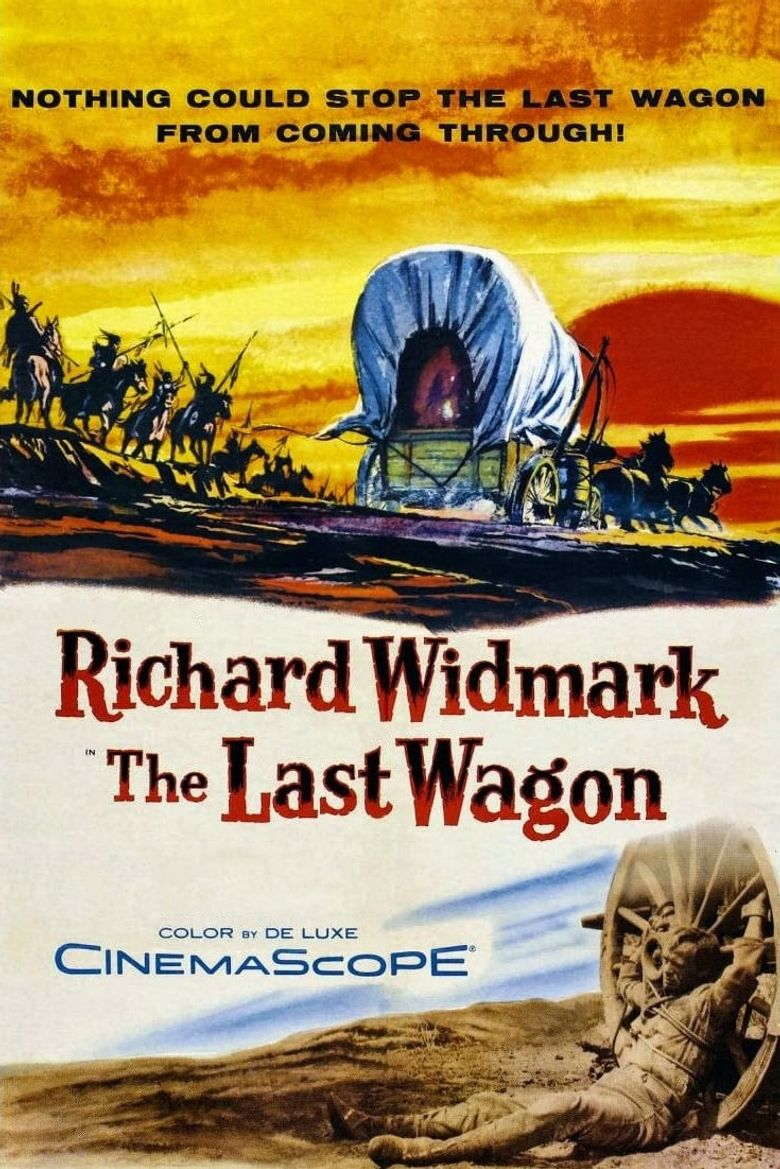 The Last Wagon Poster